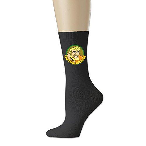 - Aquaman Logo Cotton Socks Blend Crew Sock