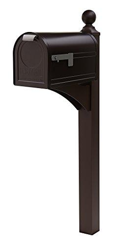 Gibraltar East Pointe Aluminum & Steel Venetian Bronze, Mailbox Post, ES200VB0