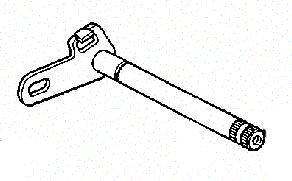 (HONDA 24610-KS6-700 SPINDLE, GEARSHIFT)