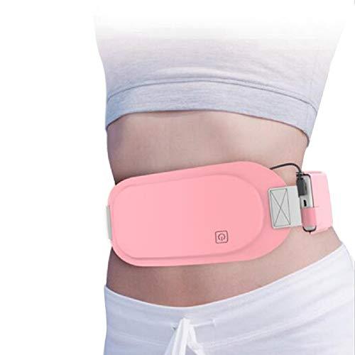Lolicute Waist Heating Pad Belt Menstrual Cramps Relief Period Pain Electric Warming Belt for Women Abdomen Heating Pad 3 Gear Adjustable Temperature (Best Otc For Menstrual Cramps)