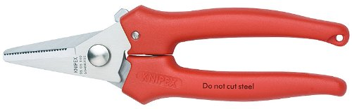 KNIPEX Tools 95 05 140, 5 1/2-Inch Combination Cutting Shears