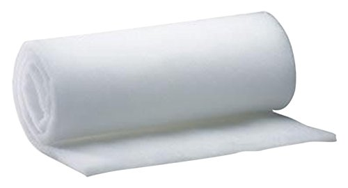 AK TRADING Wide Bonded Dacron Upholstery Grade Polyester Batting, 5 yd, 36'' W by AK TRADING