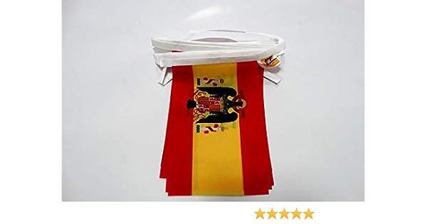 AZ FLAG Guirnalda 6 Metros 20 Banderas de ESPAÑA DE Franco 1945 ...
