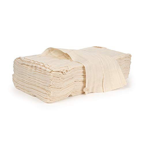 (UnBleached Weave Cheesecloth Grade 90   Extra Large: 450 sq. ft/50 sq. yards Cheesecloth Multiple Grades   Use Cooking, Straining, Filtering, Furniture Staining, Wood Working   Bulk)
