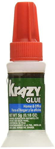 Krazy Glue KG94548R 5G Home and Office Brush-On 6 ()