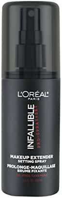 L'Oreal Paris Cosmetics Infallible Pro-Spray and Makeup Extender, Setting Spray, 3.4 Fluid Ounce