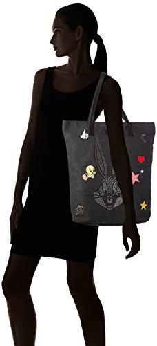 31x46x12 Cm Bugs Pour Cabas Shopper Bunny Femme Codello X b Mit H T Noir Motiv xEqzYXvw