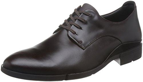 Clarks Habillé Homme Chaussures Daulton Walk en Cuir Marron Taille 43