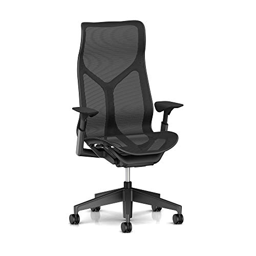 Used, Herman Miller  Cosm Chair, High Back, Graphite for sale  Delivered anywhere in USA
