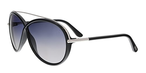 Tom Ford Women's FT0454 Sunglasses, Shiny - Sunglasses Ford Tom Ladies