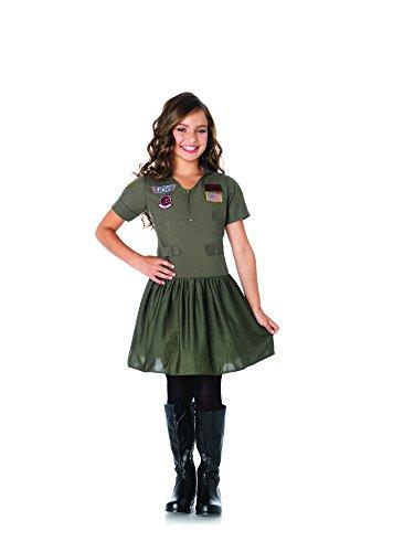 1-PC-Girls-Top-Gun-Flight-Dress