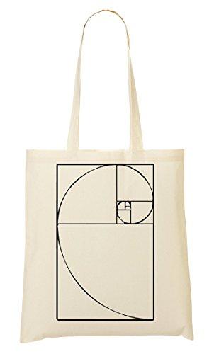 Fibonacci Number Spiral Cool Bolso De Mano Bolsa De La Compra