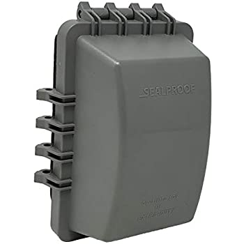 Sealproof 2 Gang Weatherproof In Use Outlet Cover Two