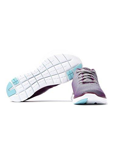 Skechers Damen Flex Appeal 2.0 Outdoor Fitnessschuhe Violett(Violett/Grau)