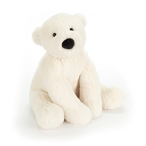 Jellycat Perry Polar Bear Stuffed Animal, Little, 10 inches