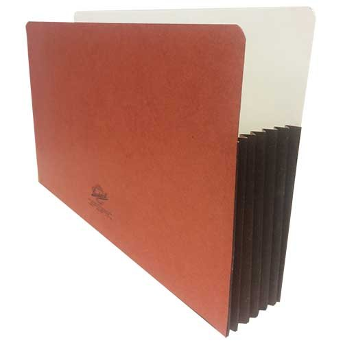Bushnell File Pocket, Legal Size, Fully Lined Reinforced Tyvek Gusset, Top Tab, 5 1/4″ Expansion, 25 Per Carton