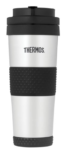 (Thermos 18 Ounce Vacuum Insulated Stainless Steel Tumbler, Stainless Steel)