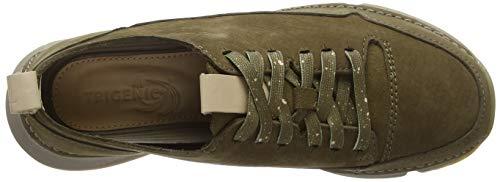 Femme Tri Sneakers Basses Clarks Gris Spark Nubuck Khaki 7TzqOgpUW