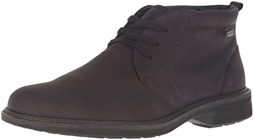 ECCO Men's Turn Gore-Tex Tie Chukka Boot, Mocha, 43 EU/9-9.5 M US