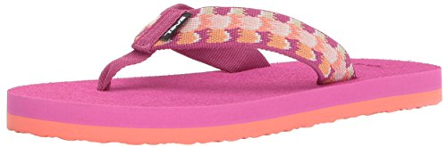 Teva Girls' Y MUSH II Flip-Flop, chia Pink, 4 M US Big Kid