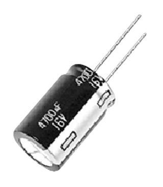 Capacitors - Aluminium Electrolytic - CAP ALU ELEC 1UF 400V RAD - Pack of 5 - ECA2GHG010 - Pack of 5 PANASONIC ELECTRONIC COMPONENTS XY21V10455