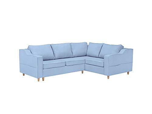Mazzini Sofas sofá de ángulo Derecho Convertible con baúl de ...