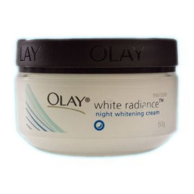 Olay White Radiance Whitening Night Cream 50g. From Thailand. (C229)