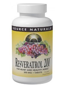 Resveratrol, 200 mg, 120 Tabs by Source Naturals (Pack of 2) by Source Naturals