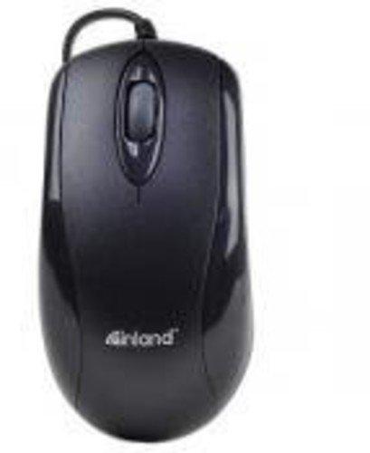 Inland U-Click PS/2 Optical Mice, Black