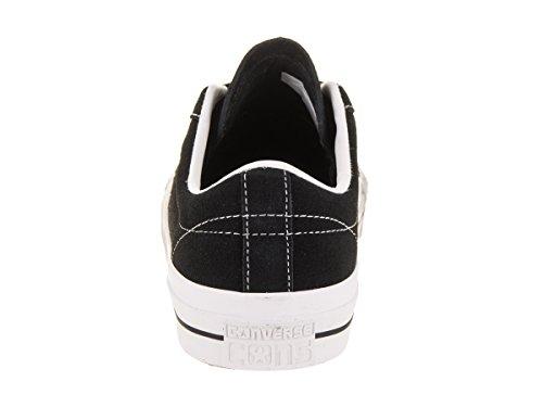 Zapatillas De Skate Converse Unisex One Star Pro Ox Black / White / White