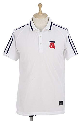 半袖ポロシャツ メンズ アルチビオ archivio ゴルフウェア a869302 L(48) ホワイト(090) B07SCN5F2F