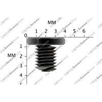 12 Pack of M2 x 3mm Small Laptop Screws Black Zinc Laptop Machine Screw Phillips Head/ This screw is used on every make and model of laptop, Dell, Toshiba, Hp, Compaq,Ibm,Fujitsu,Samsung,Medion,Acer,Sony,Apple,Alienware,Gateway,Lenovo,Asus,LG,NEC
