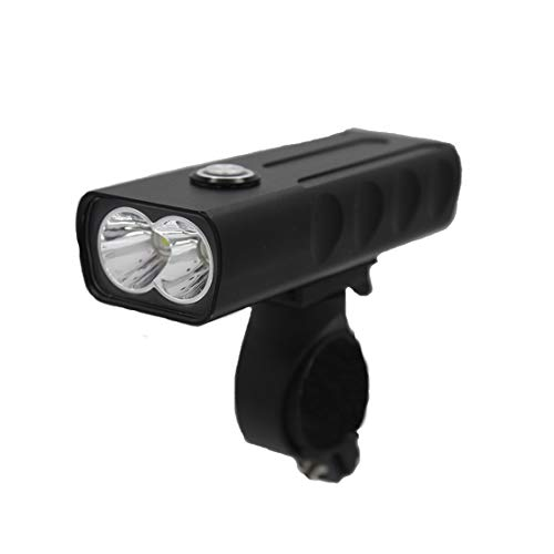 KC Fire 자전거 라이트 2000루멘 자전거 헤드라이트 XM-L2 LED 전조등 홀더 부착 1*18650전지 부속