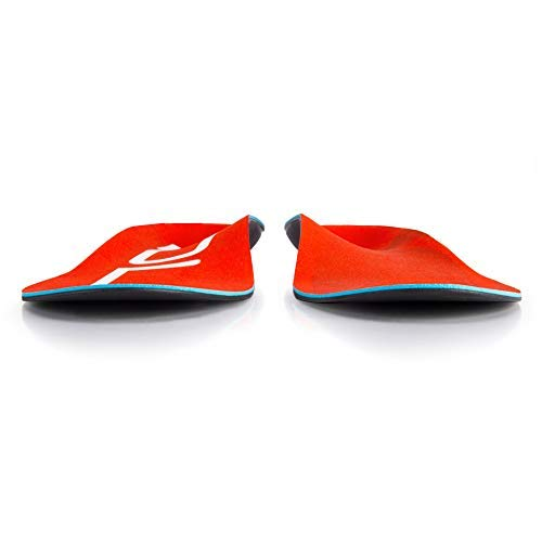 SOLE Active Medium Shoe Insoles, Red, Mens 15 / Womens Size 17 by SOLE (Image #1)