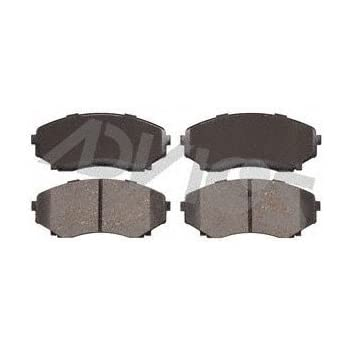 Front Wagner ThermoQuiet QC1118 Ceramic Disc Pad Set