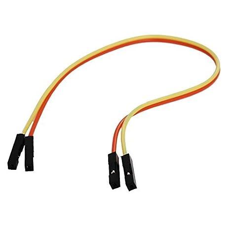 Alambres DealMux 2 Pcs placa sin soldadura cable de puente del amarillo anaranjado: Amazon.es: Bricolaje y herramientas