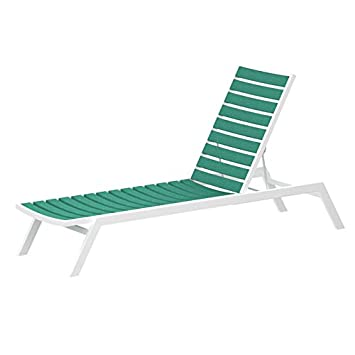 Amazon.com: Euro chaise Final: Textured Color Blanco ...