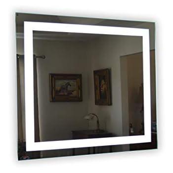 Amazon Com Wall Mounted Lighted Vanity Mirror Led
