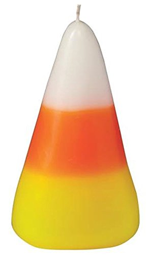 Mudpie Candy Corn Sculpted Candle (Sculpted Halloween Candles)