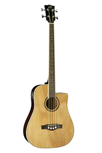 EKO Guitars 06217040 NXT Series Acoustic-Electric Bass, Natural