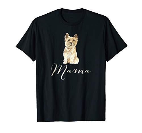 Cairn Terrier Dog Mama Shirt, Cairn Terrier Dog Mom T-shirt