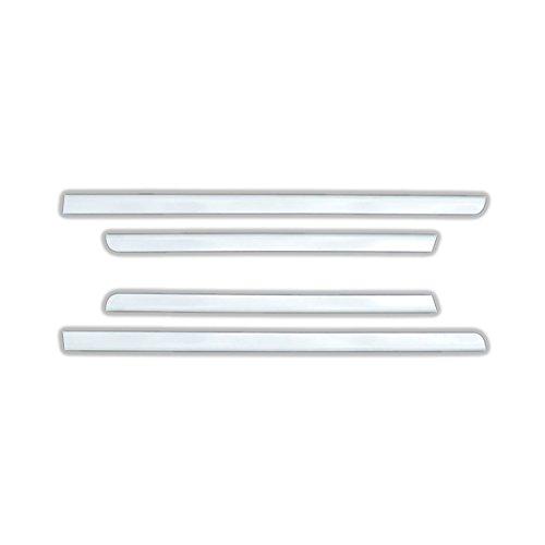 TYGER For 2014-2018 Chevrolet Silverado//GMC Sierra Rear Slider Window Trim 2PC
