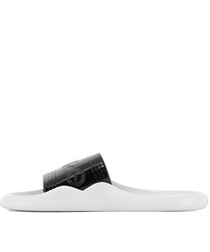 Kenzo Blanc Caoutchouc noir Femme Sandales F752sd104p5199 nY0CRwq