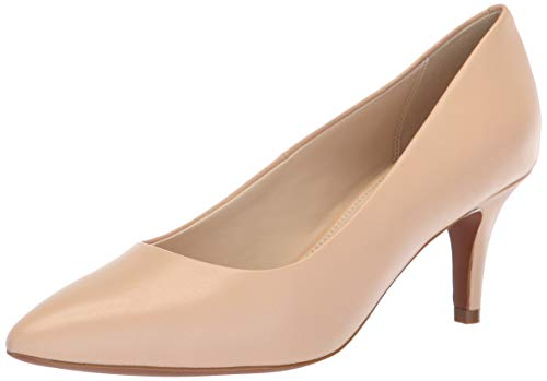 Cole Haan Women's Harlow Pump (65MM), Nude Leather, 9 B US