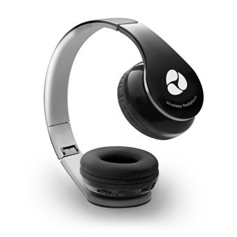 Fleeken On-ear Wireless Stereo Headphones - Black