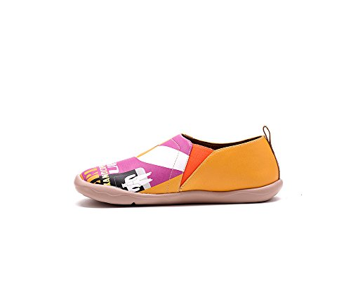 pour comfortable orange Alexanderplatz bateaux cuir UIN Chaussures femme de OwzFa7TWq