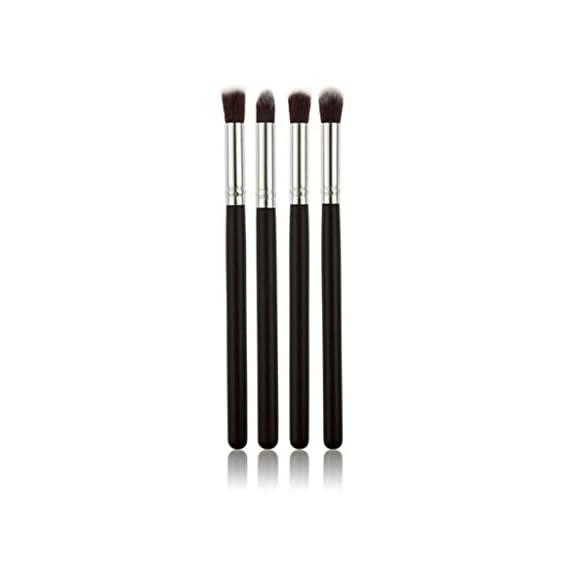 KylieEyeshadow Blending Pencil Brush, Set Of 4, Black