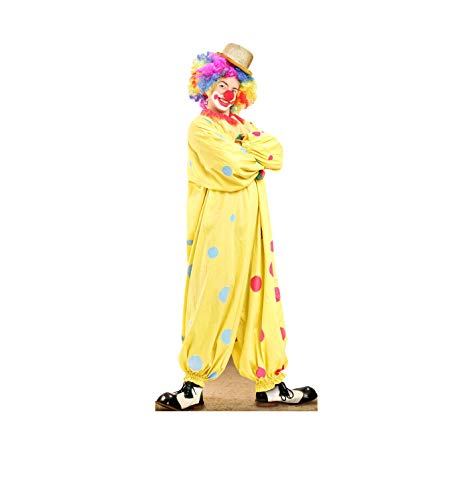 Advanced Graphics Circus Clown Life Size Cardboard Cutout Standup -