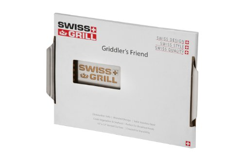Swiss Grill SGGF Griddler's Friend Stainless Steel Griddle Plate