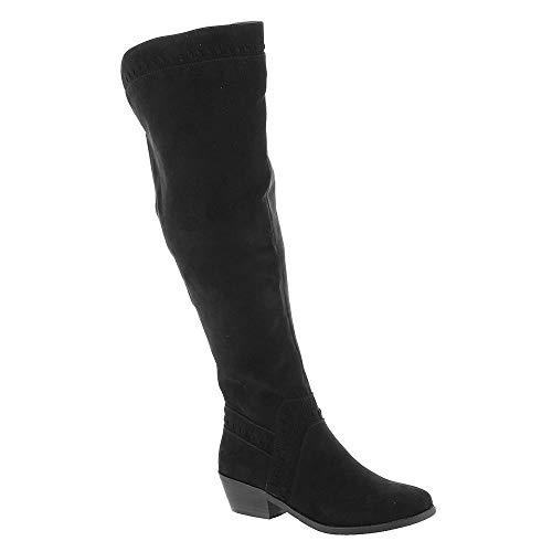 MADELINE girl Luster Women's Boot 7.5 B(M) US Black ()